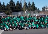 group shot of employee volunteers