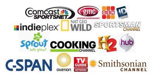 logos of new HD channels in Seattle