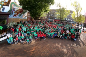 International District Seattle Comcast Cares Day 2014