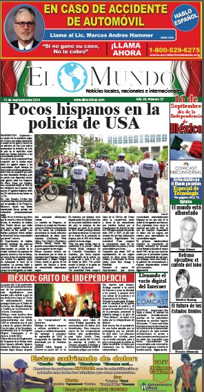 El Mundo cover