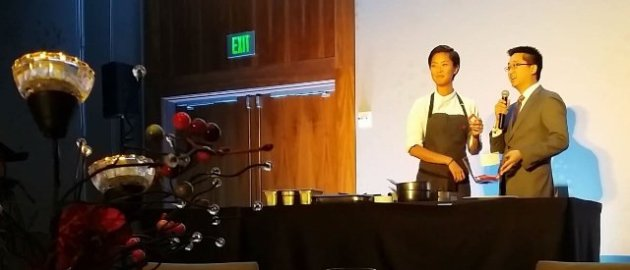 chef and event emcee