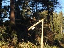 broken pole