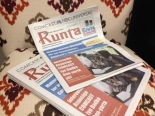 copies of Runta newsppaer