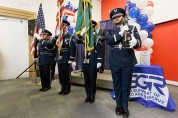 Colors were presented by the 92nd Air Refueling Wing Honor Guard from Fairchild Air Force Base