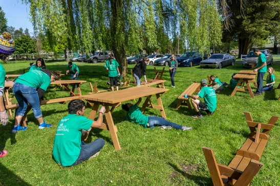 Puyallup benches